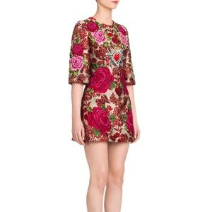 Dolce and gabby a jacquard embellished mini dress